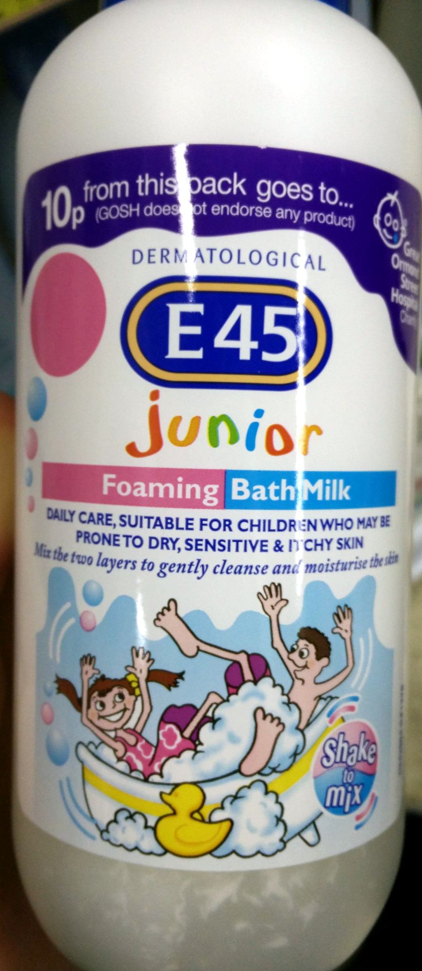 Junior Foaming Bath Milk - Product