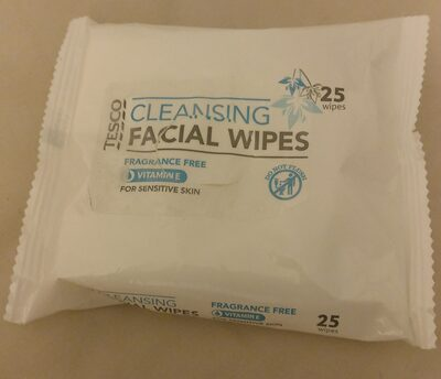Cleansing facial wipes - Product - en