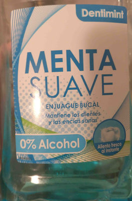 Enjuague bucal Menta suave - Product