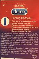 Contour, préservatifs ultra-fins et extra lubrifiés - Ingredients
