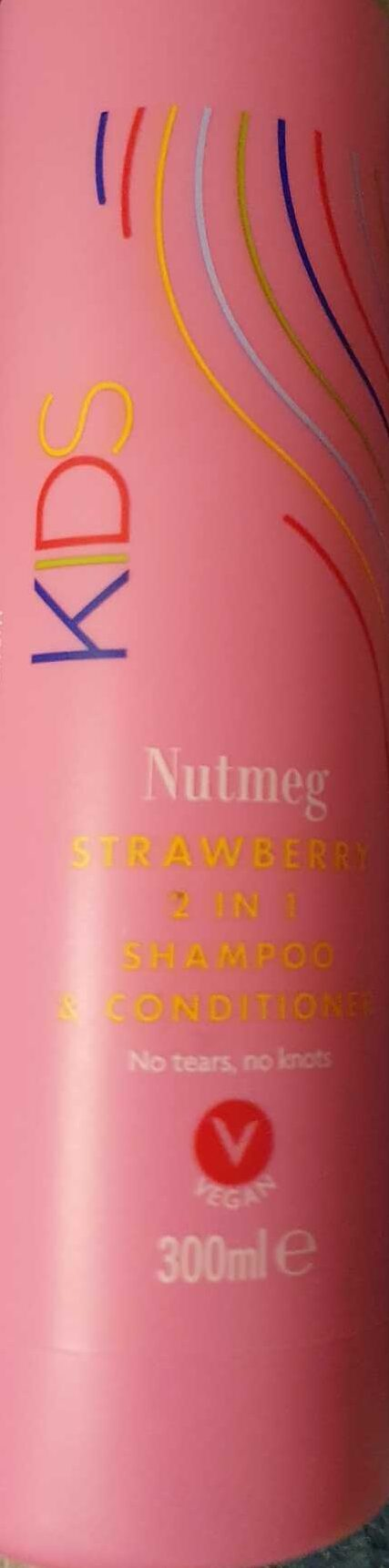 Strawberry 2 in 1 shampoo & conditioner - Product - en