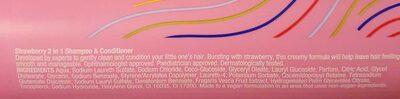 Strawberry 2 in 1 shampoo & conditioner - Ingredients - en