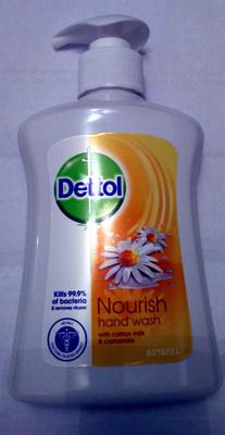 Nourish hand wash with cotton milk & camomile - Product