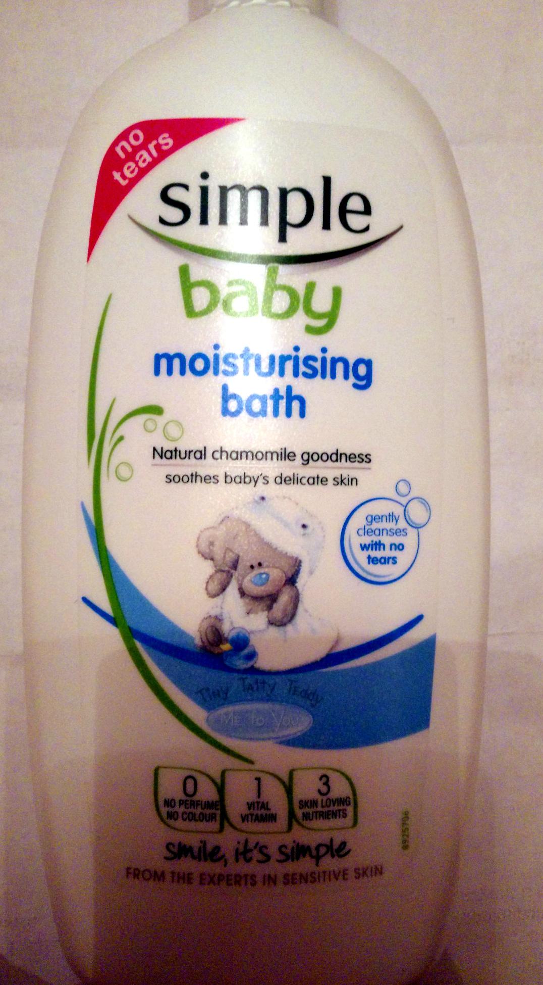 Baby Moisturising Bath - Product