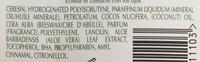 Baume nourrissant pour les lèvres - Ingredients - fr