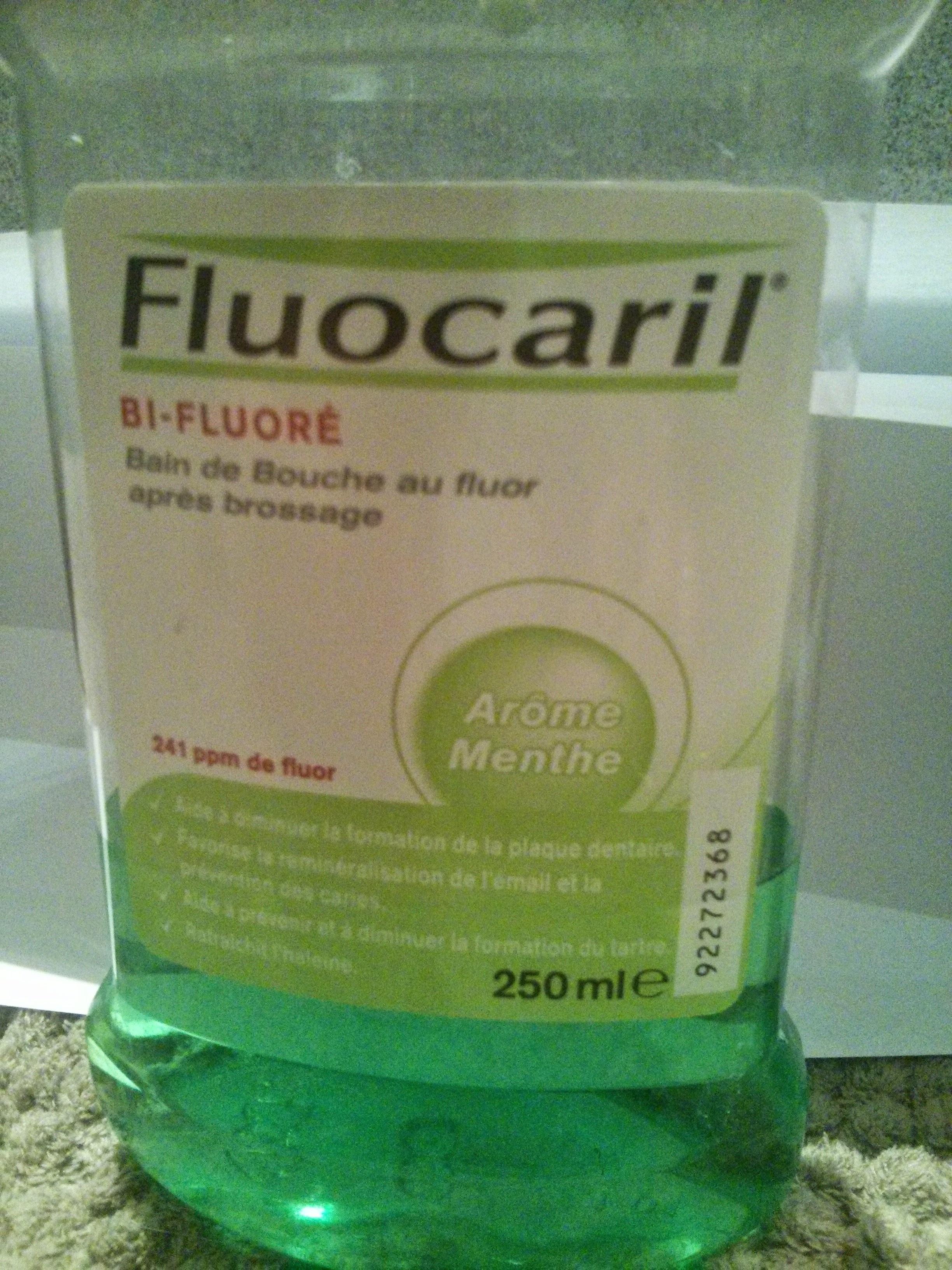 Bain de bouche au fluor après brossage - Product - fr