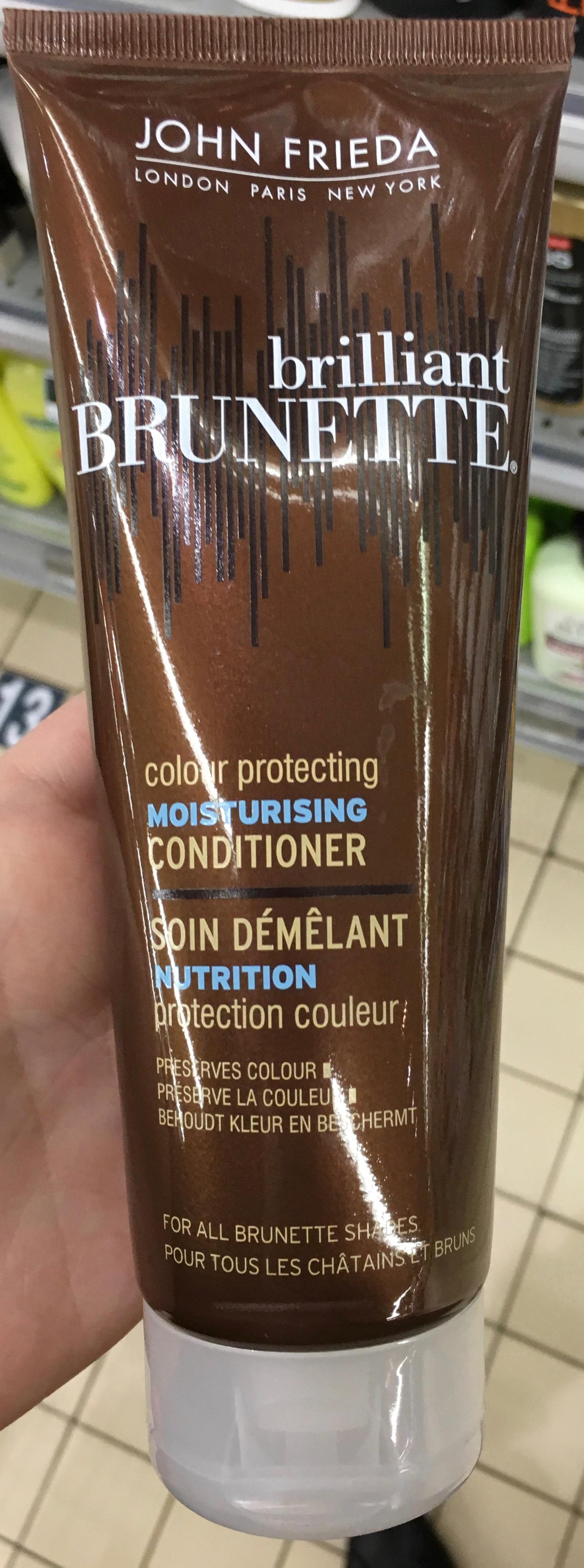 Brilliant Brunette Soin démêlant nutrition protection couleur - Produit - fr