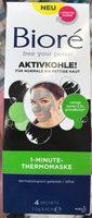 1-Minute-Thermomaske Aktivkohle! - Product - nl