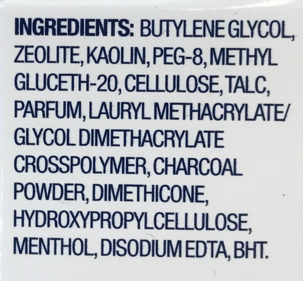 1-Minute-Thermomaske Aktivkohle! - Ingredients - nl