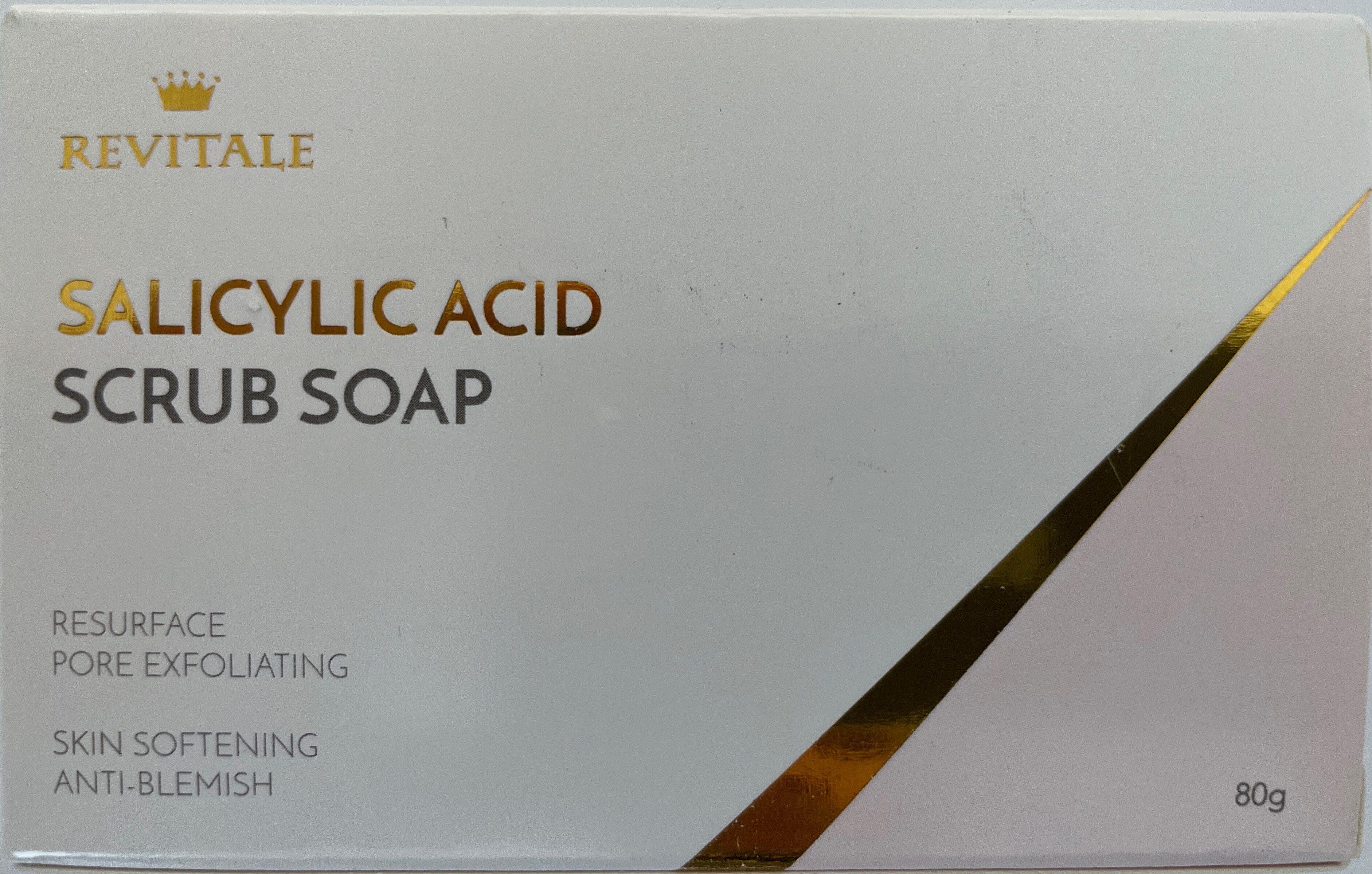 Salicylic Acid Scrub soap - Product - de