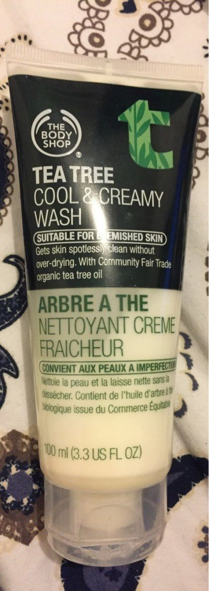 Tea Tree Cool And Creamy Wash - Product - fr