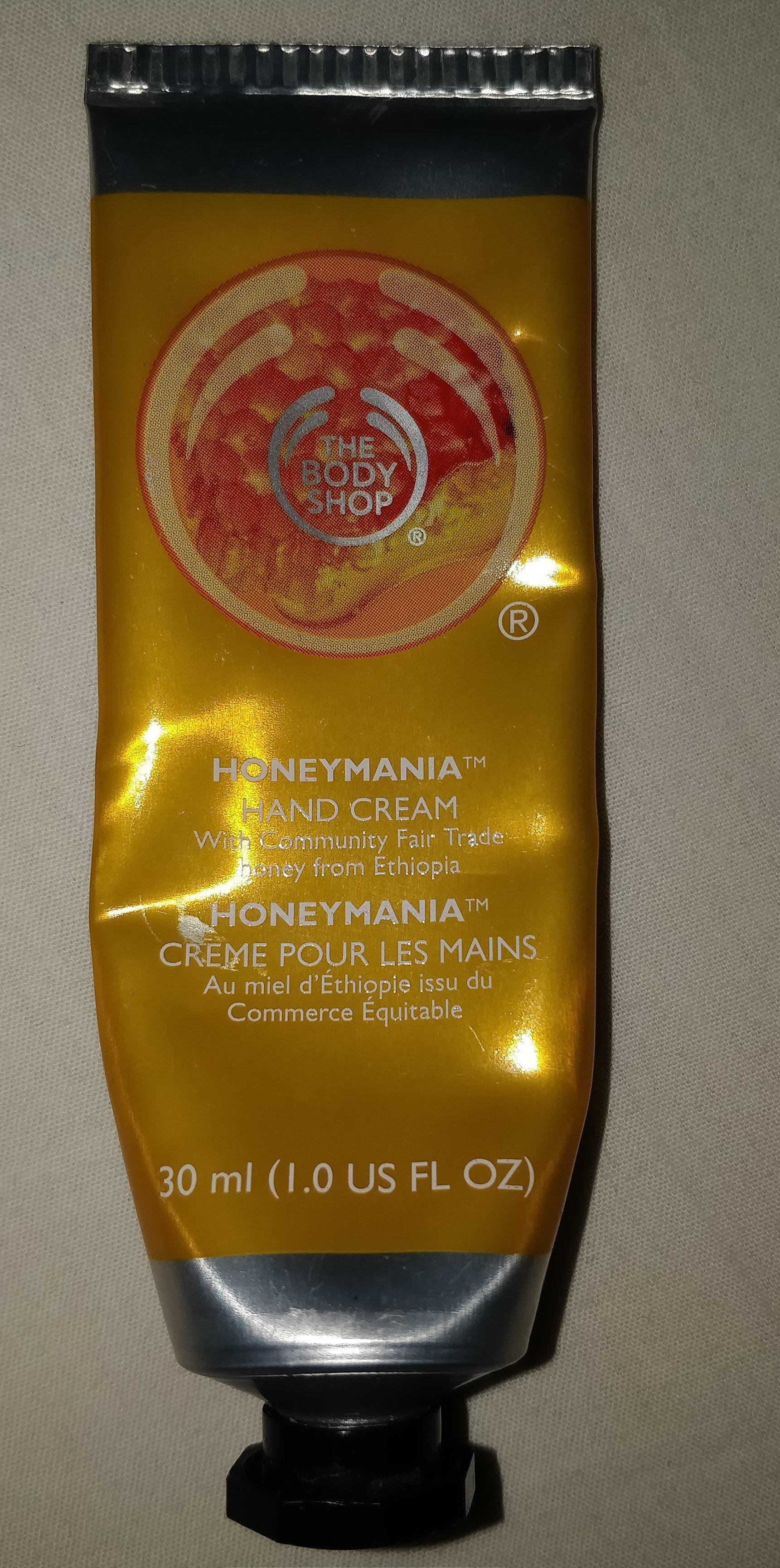 Honeymania crème pour les mains - Produit - fr