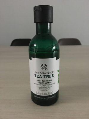 Nettoyant purifiant visage Tea Tree - Produit
