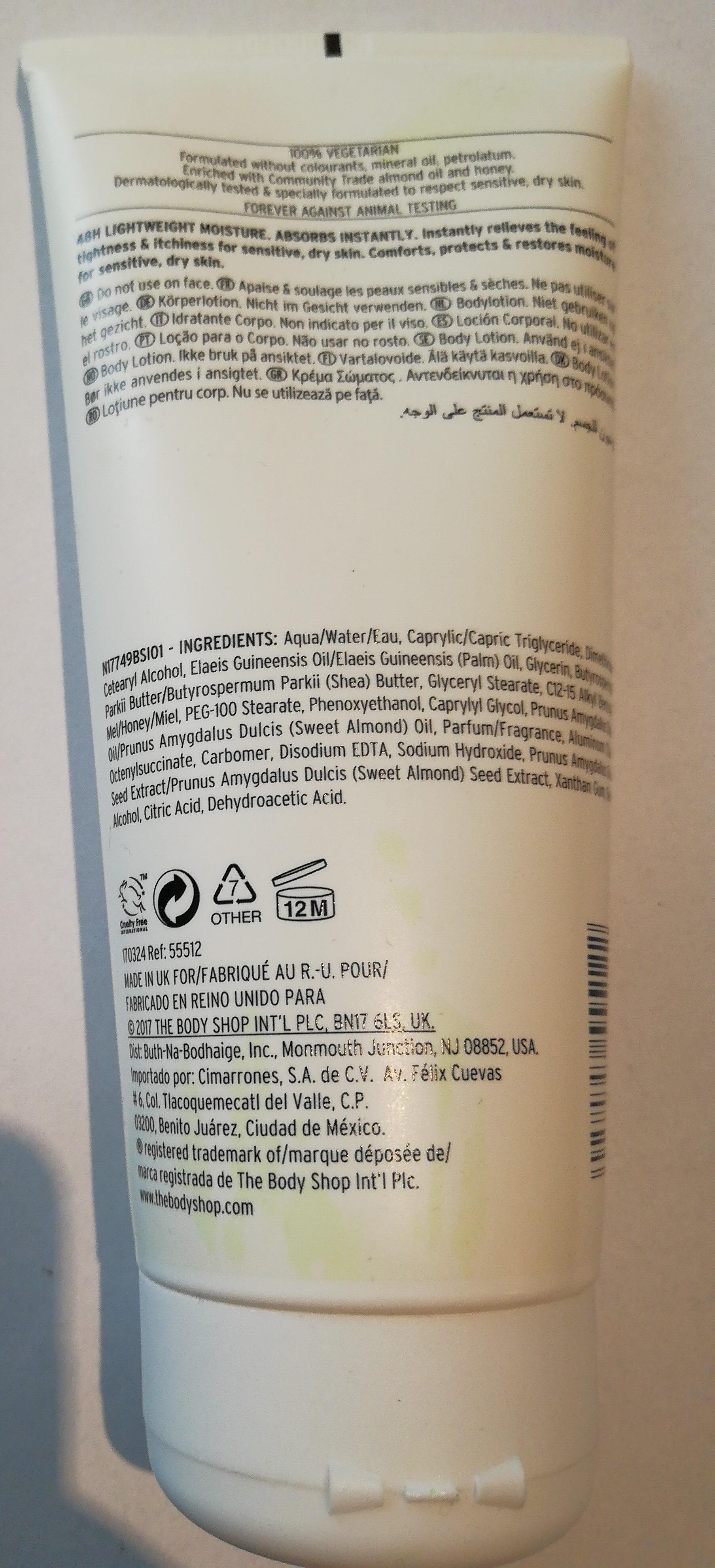 ALMOND MILK & HONEY For Sensitive, Dry Skin - Product - en