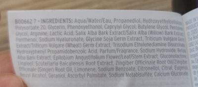ginger scalp serum - Ingredients - en