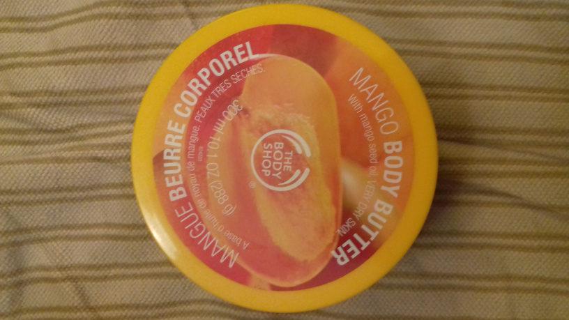 beurre corporel à la mangue - Produit