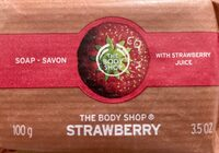 Soap with Strawberry juice - Product - de