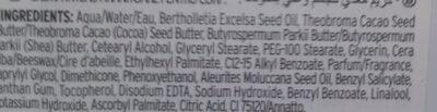 Cream kuki - Ingredients - en