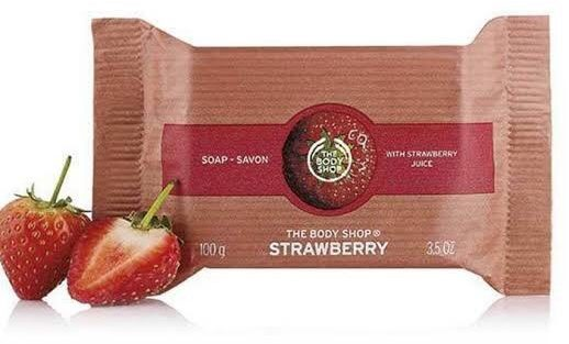 Soap Bar Strawberry 100gr - Product