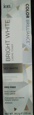 Bright White Crème Toner Icy White - Product