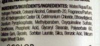 10 vol. DEVELOPER  - Ingredients