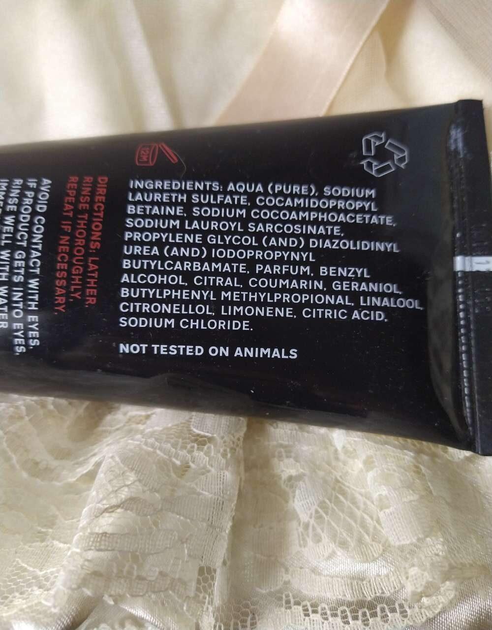 Pre colour shampoo - Ingredients - en