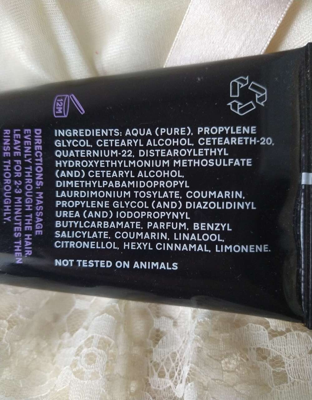 Colour protecting conditioner - Ingredients