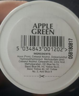Directions Apple green - Ingredients - de