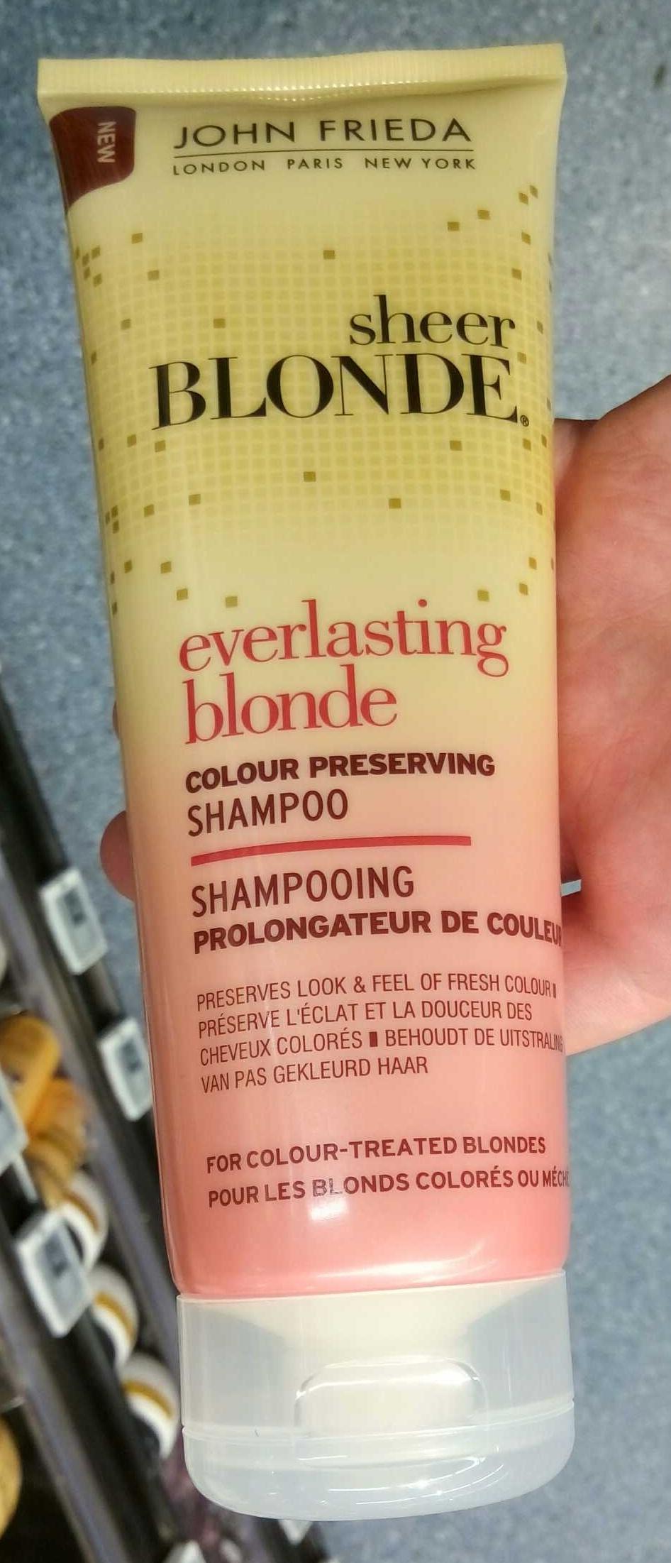 Sheer Blonde Everlasting Blonde Shampooing prolongateur de couleur - Product - fr