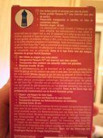 Pleasuremax, préservatifs perlés et nervurés pour un maximum de plaisir à 2 - Ingredients - fr