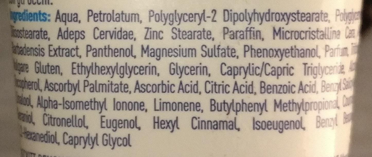 Hirschtalg EXTREME - Ingredients
