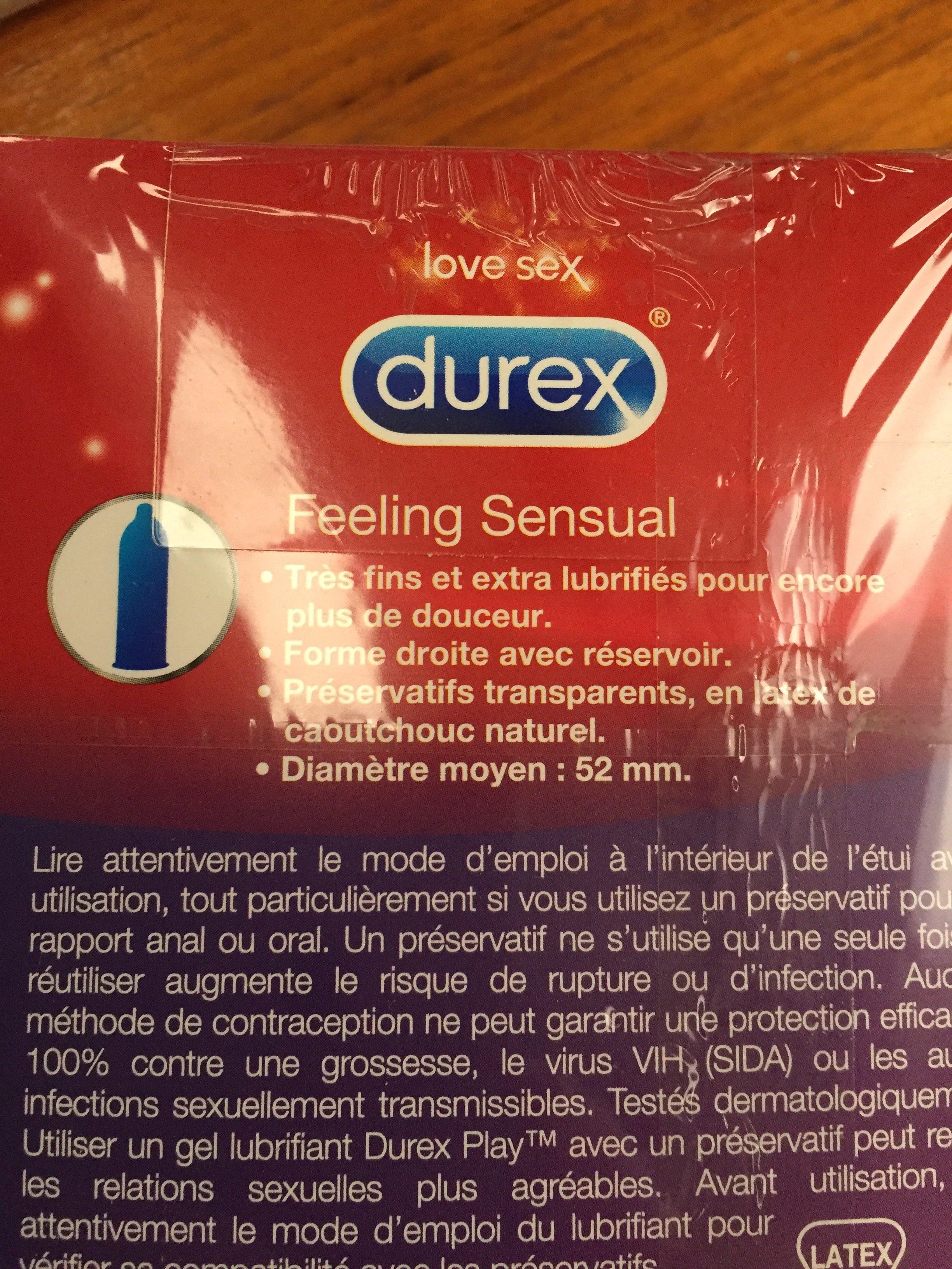 Préservatifs, Contour, ultra-fins et extra lubrifiés pour des sensations préservées - Ingrédients - fr