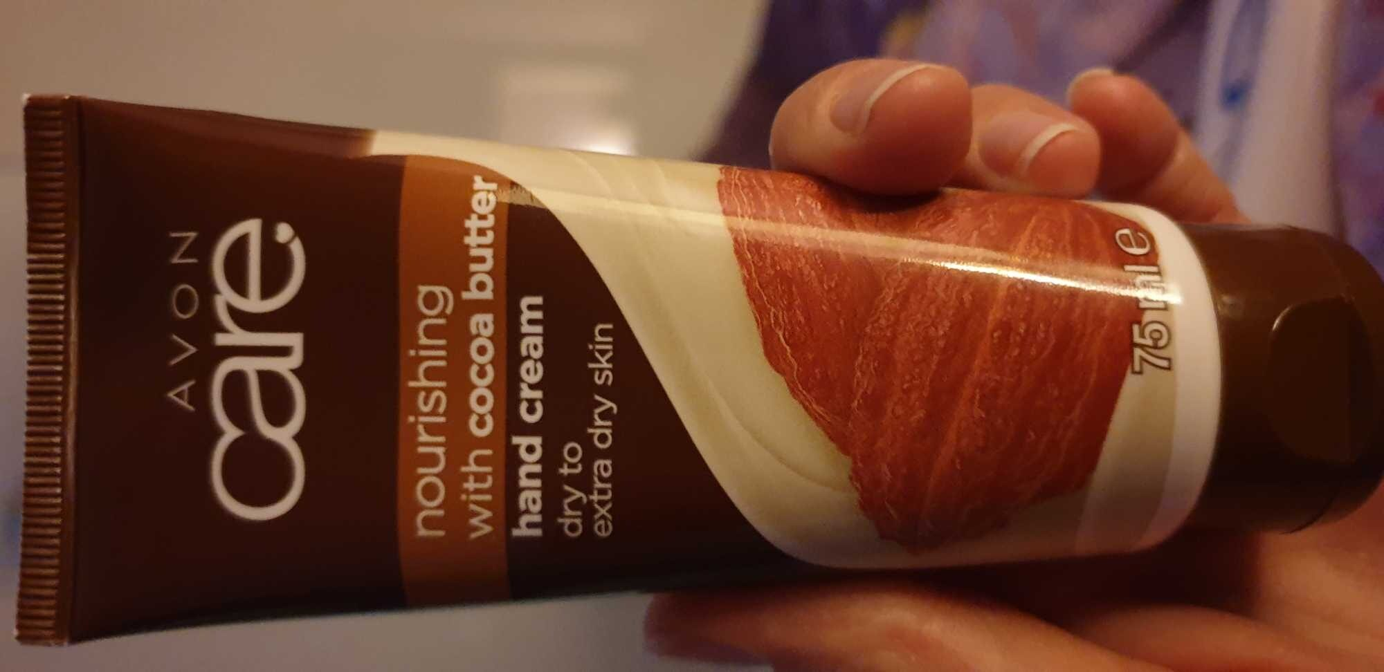 Hand cream nourishing with cocoa butter - Produit - it