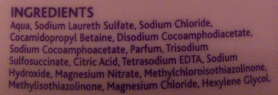 Soothing Bedtime Bath - Ingredients