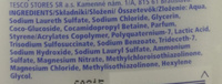 Sensitive Bath & Bodywash - Ingredients