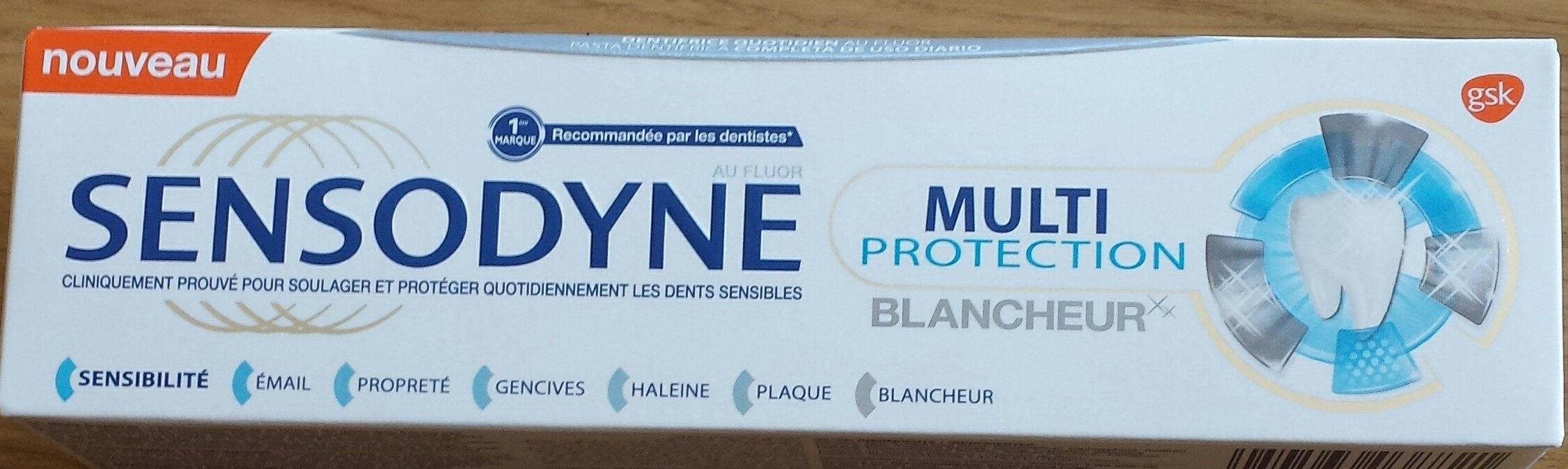SENSODYNE multi protection blancheur - Product - fr