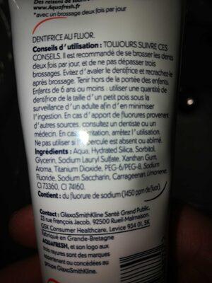 Aquafresh triple protection - Product - fr