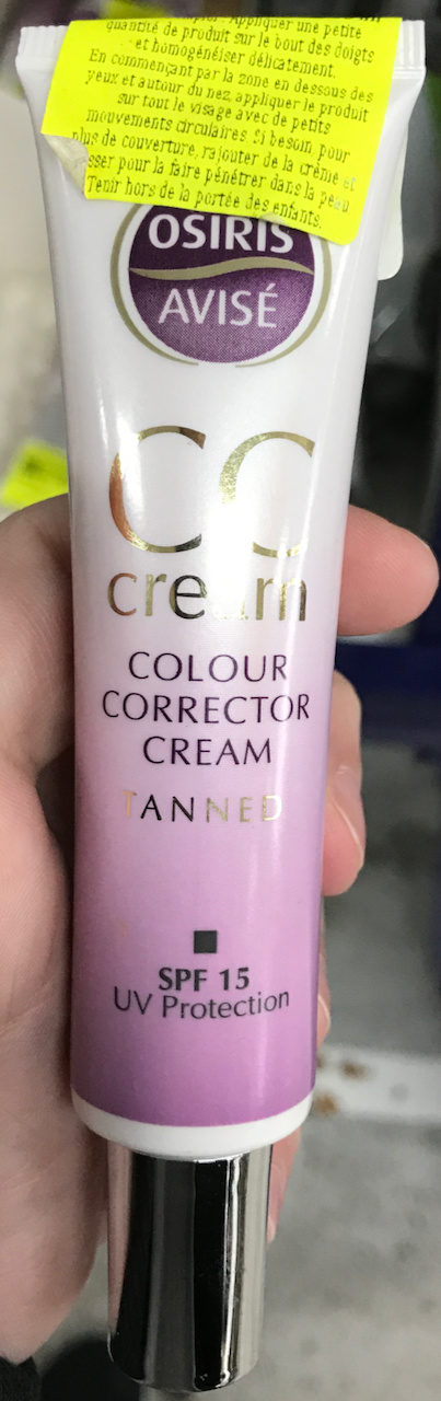 CC Cream Tanned SPF 15 - Product
