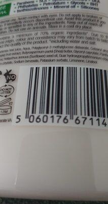 dr organic organic Aloa Vera Conditioner - Ingredients - en