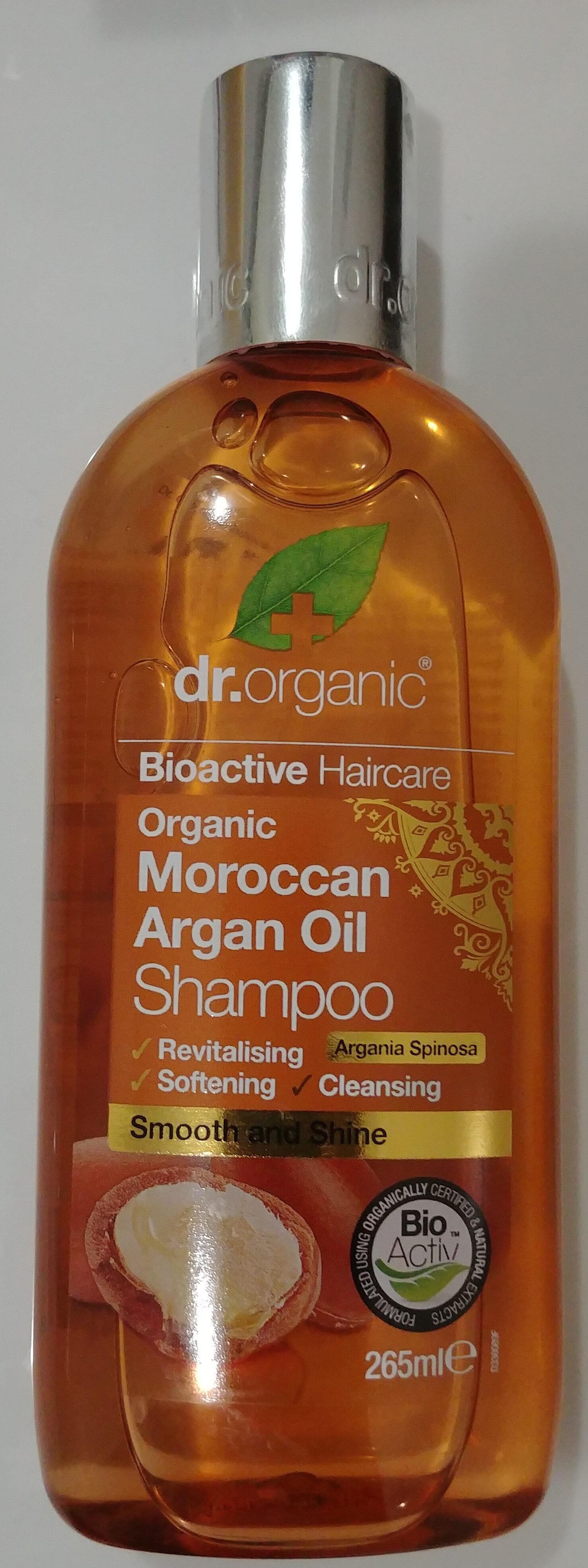 Organic Moroccan Argan Oil Shampoo - Produto - en