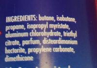 Foot & Shoe Spray Deodorant - Ingredients - en