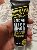 Black Peel Mask - Product