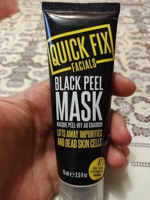 Black Peel Mask - Product - en