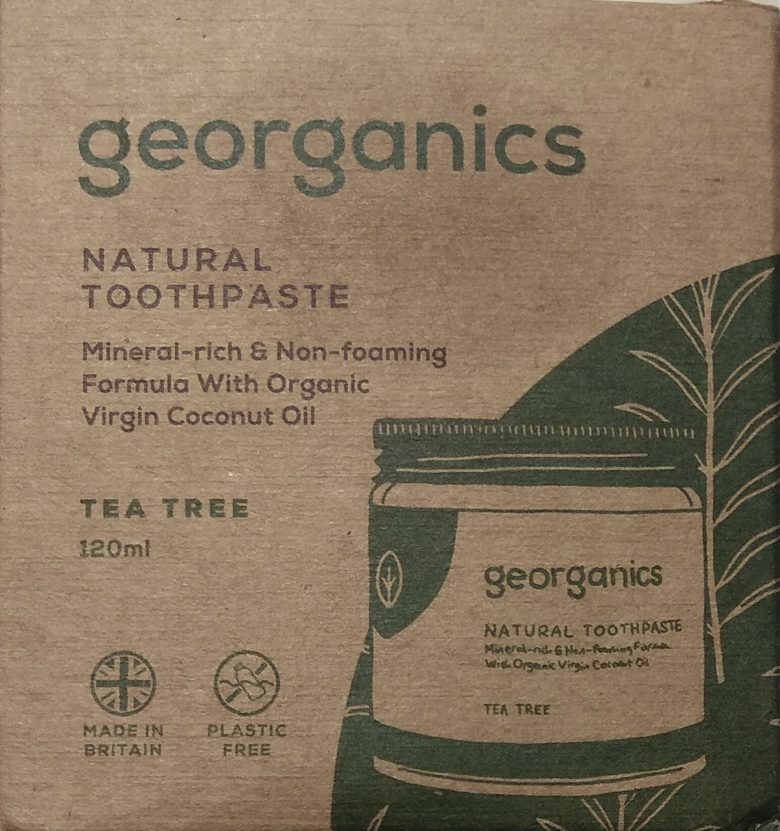 Natural toothpaste - Product - en