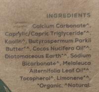Natural toothpaste - Ingredients - en