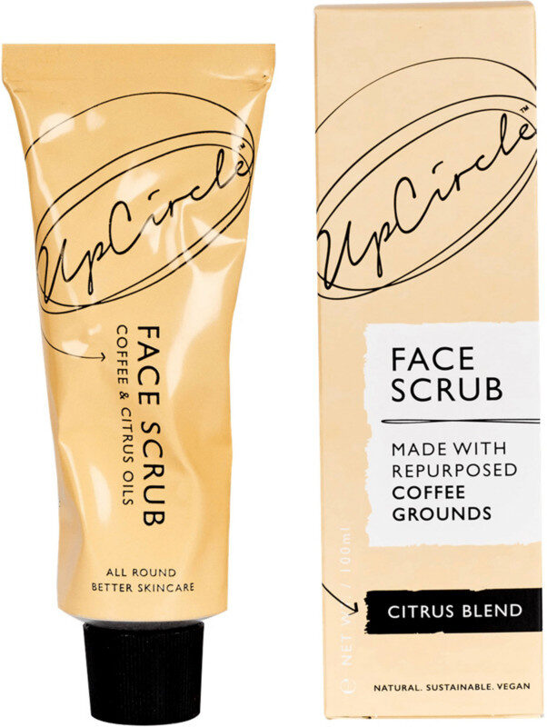 Coffee Face Scrub Citrus Blend For Dry Skin - Product - en