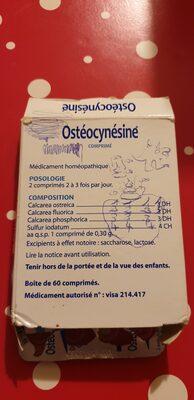 ostéocynésine - 2