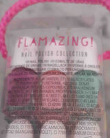 Flamazing   NAIL POLISH COLECTION - Ingredients - en