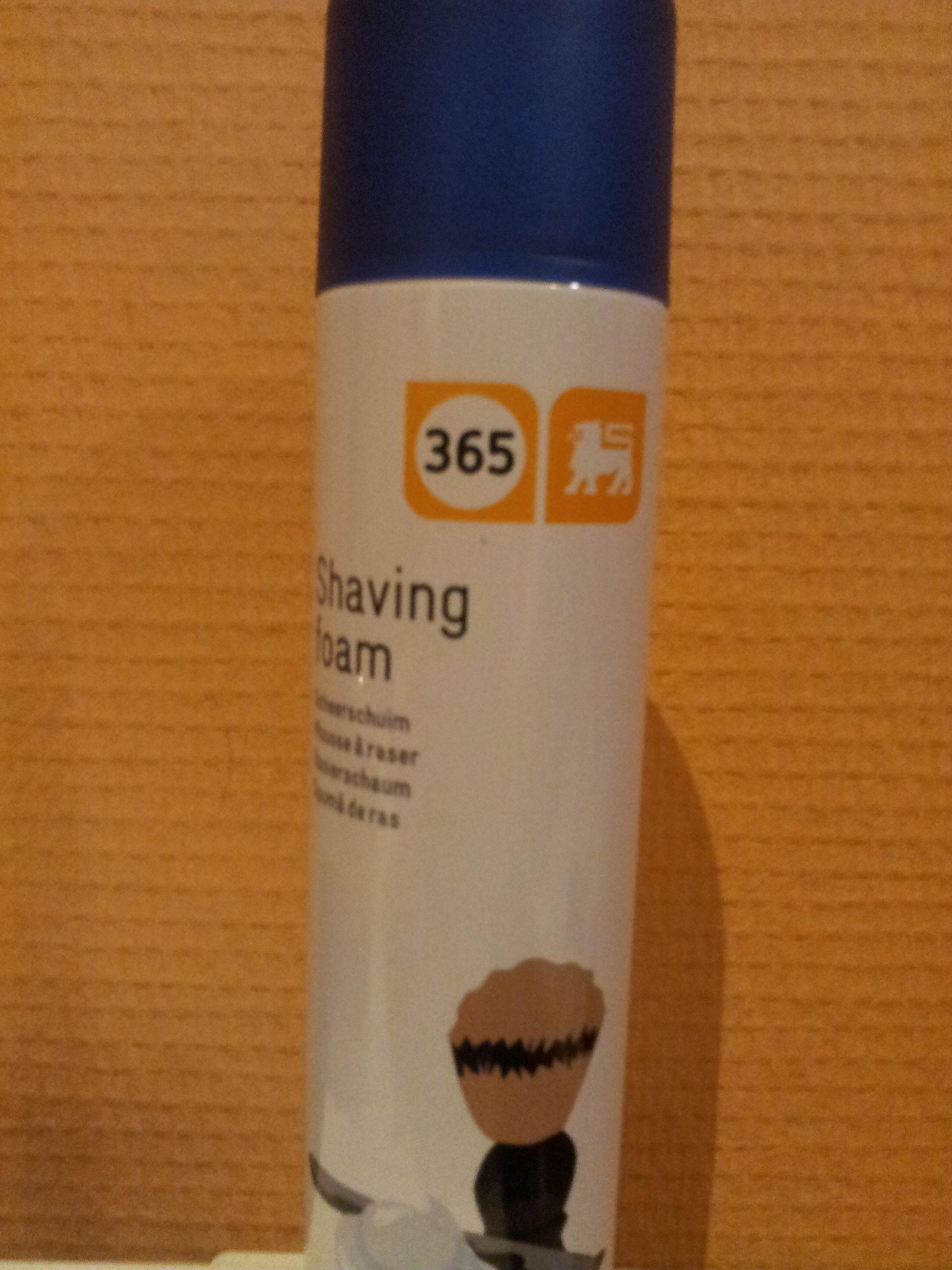 Shaving foam - Produit - fr