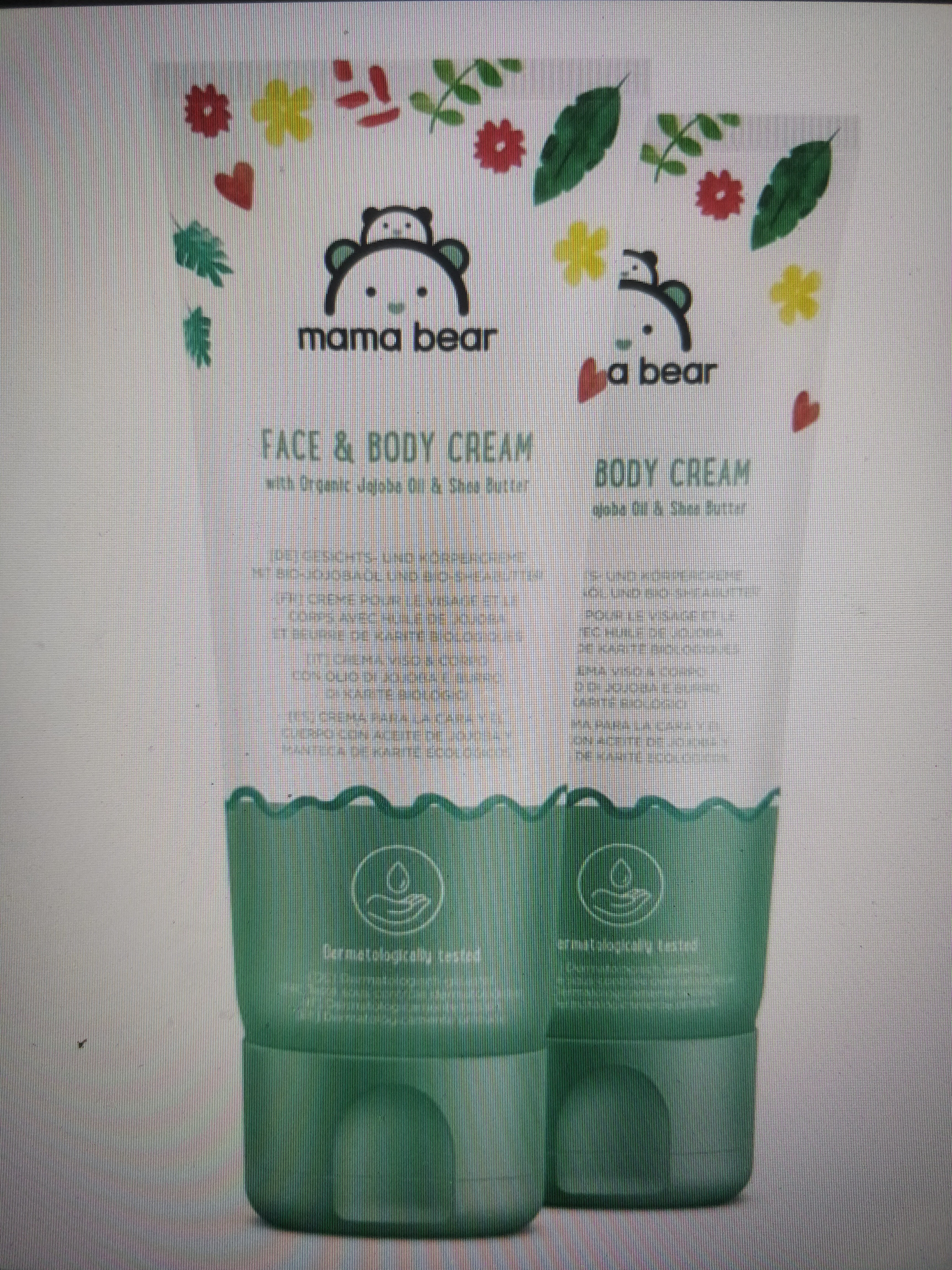 mama bear face & body cream - Produit - fr